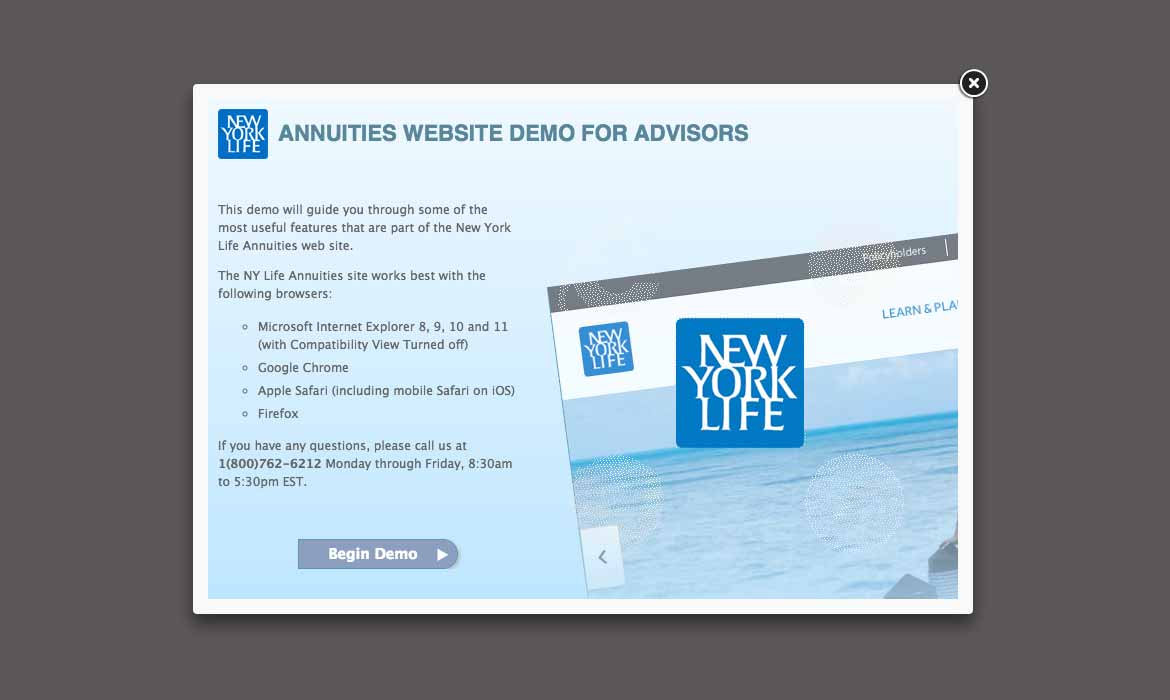 New York Life Annuities Demo
